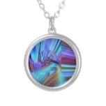 Fractal Digital Art Necklace