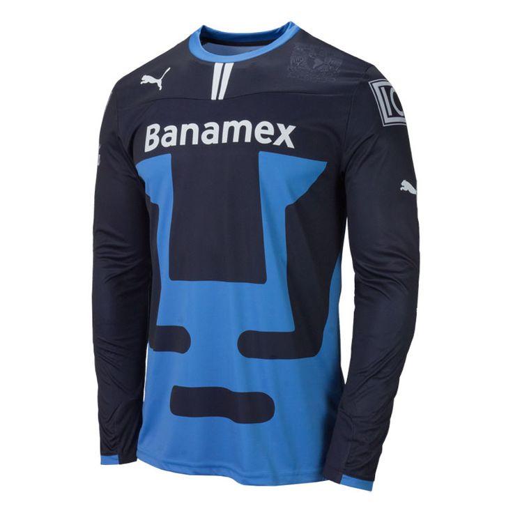 Puma Pumas UNAM 2013/2014 Goalkeeper Soccer Jersey