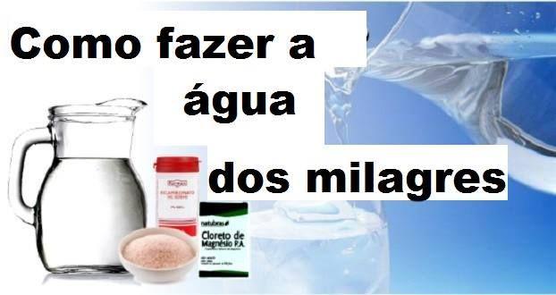 Saiba como fazer a água dos milagres da forma mais fácil e como eliminar o flúor da água | Cura pela Natureza.com.br
