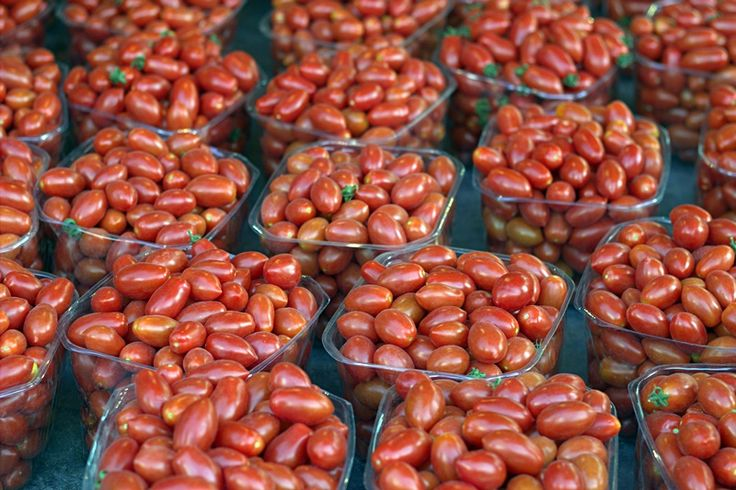 More cherry tomatoes,Carmel market,December 16