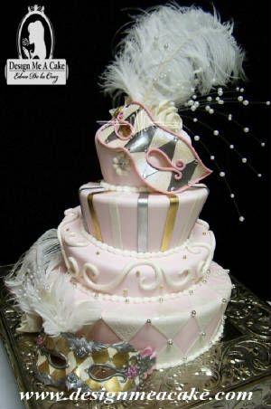 Carnaval style Cake