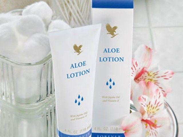 Aloe lotion crema idratante per viso e corpo