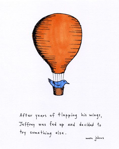 Jeffrey was fed up by Marc Johns, via Flickr