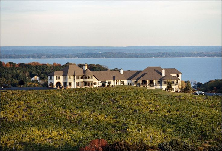 Chateau Chantal in Traverse City, Mich. What a beautiful place. And the wine is good!