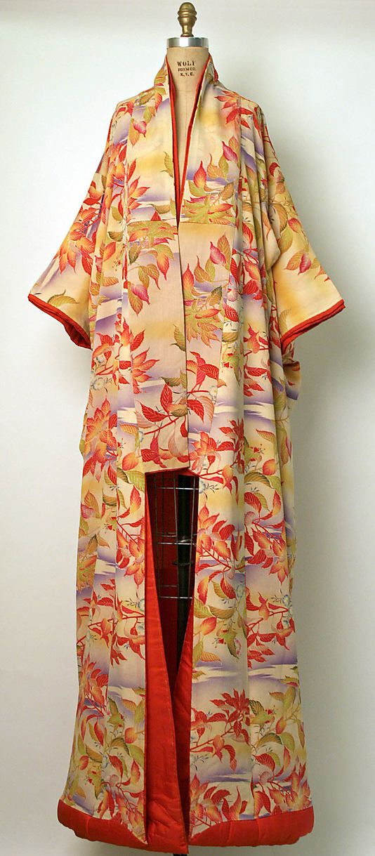 Ensemble  Date: ca. 1900 Culture: Japanese Medium: cotton, silk
