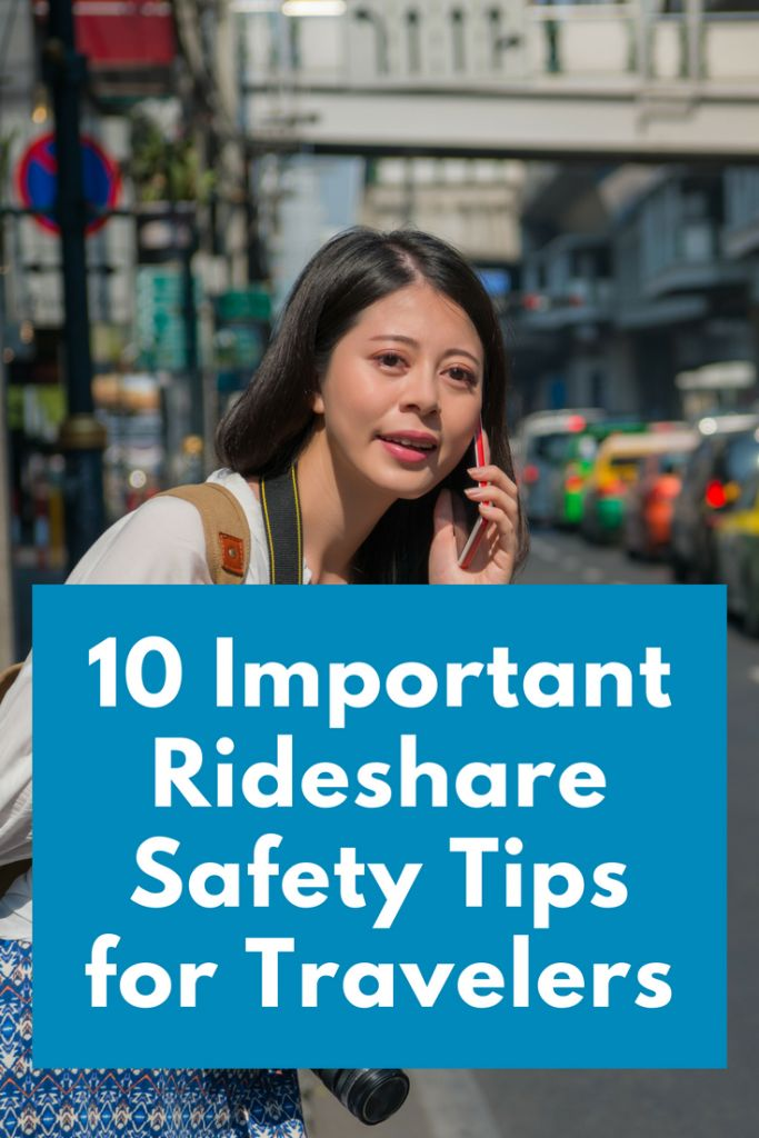 Make these 10 rideshare safety tips part of your routine, whether you're traveling around your hometown or in a new and unfamiliar destination.
