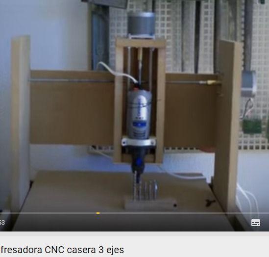 Como construir una fresadora CNC casera 3 ejes - YouTube
