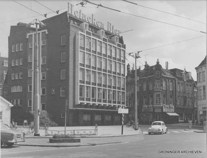 Grote Markt oostzijde, hoek Poelestraat/Oosterstraat 1968