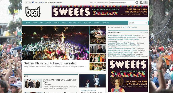 Beat.com.au - Web Banners
