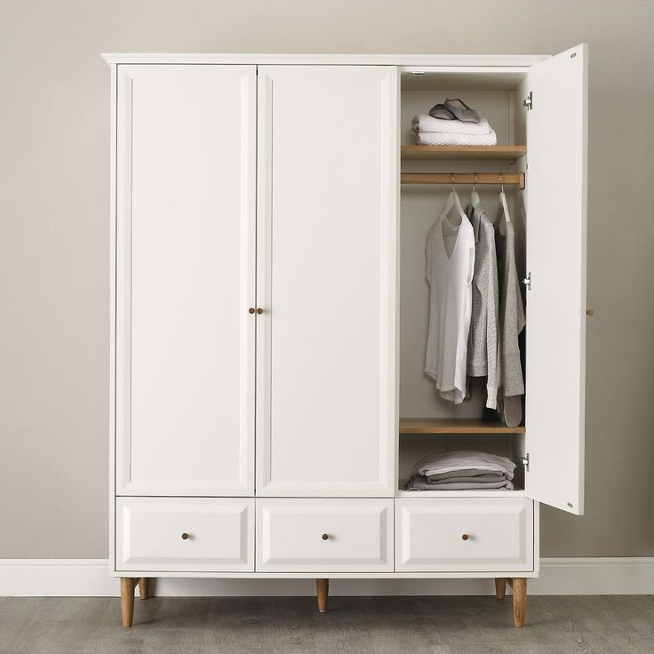 Devon Wardrobe From Ercol, Available At The White Company. Matching Units  Also Available.