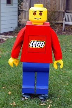 DIY Tutorial DIY BOYS HALLOWEEN COSTUMES / DIY Lego Man Costume - Bead&Cord