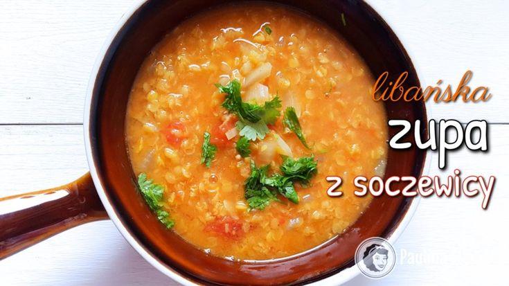 Libańska zupa z soczewicy