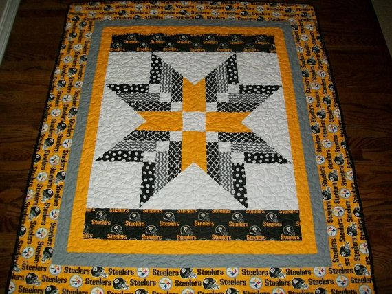 nfl pittsburgh steelers quilt