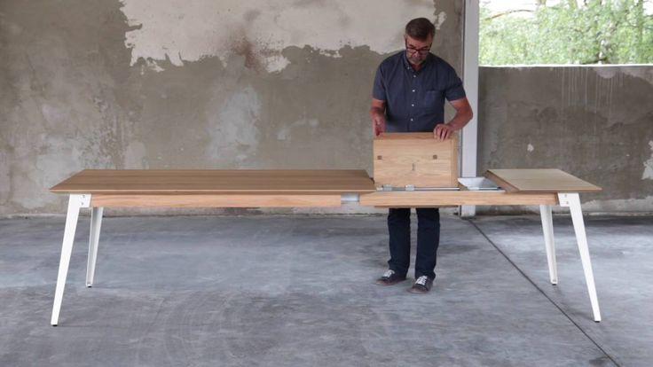 Miloni - nowoczesny stół LOFT