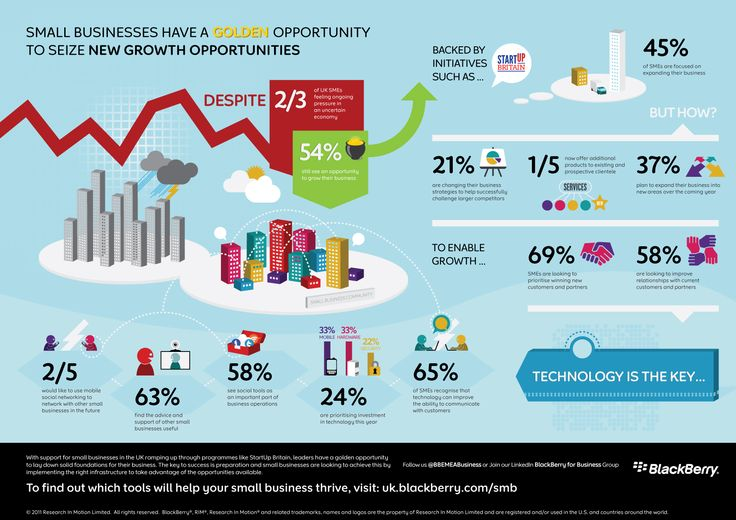 #SocialMedia #Infographics - Small businesses have a golden opportunity to seize new growth opportunities