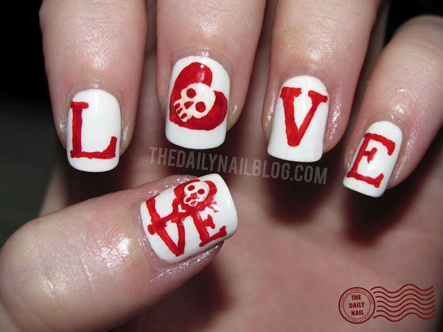 25 unique crazy nail designs ideas on pinterest crazy nails 30 cute creative and crazy nail art designs prinsesfo Image collections
