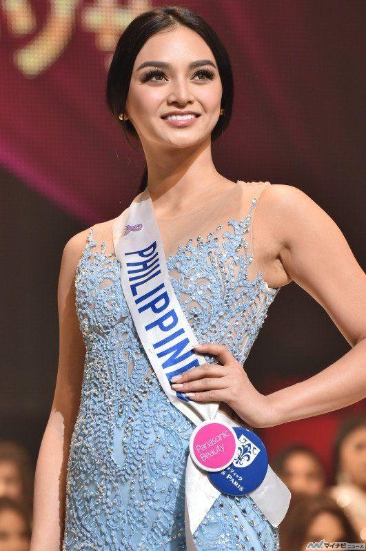 """69の国と地域から選ばれた""""美と平和の親善大使""""ミス・インターナショナルの世界一を決定する「2016ミス・インターナショナル世界大会」が27日、都内で行われ、フィリピン代表で幼稚園教師・モデルのカイリー・バーゾサさん(24歳)がグランプリに輝いた。"""