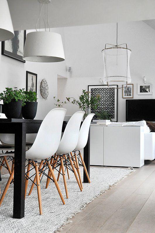 10 exceptionnels intérieurs pour une déco Black and White