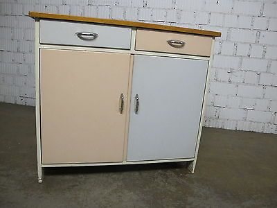 alte kommode 50er 60er jahre pastell nostalgie shabby vintage oma ... - Omas Alte Küche