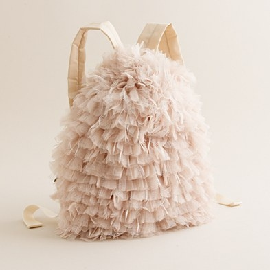 Crewcuts tulle backpack...so pretty!