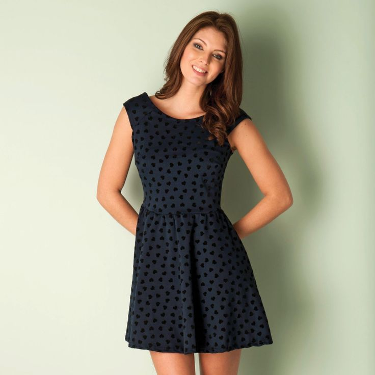 ClubL Womens Heart Flock Dress |discount clubl | Get the Label