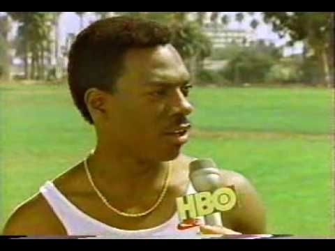 """""""I ran from New York to California in 5 hours, I'm Carl Lewis."""" ......[Eddie Murphy as Carl Lewis in 1984 Joe Piscopo special]"""