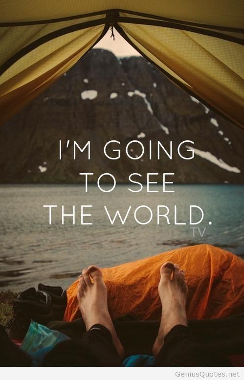 Loesje: de wereld ligt aan mn voeten en hij kietelt
