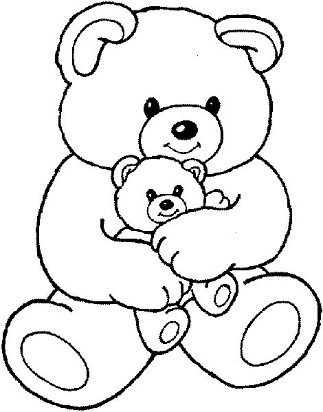 25 best ideas about Bear Coloring Pages on Pinterest  Coloring