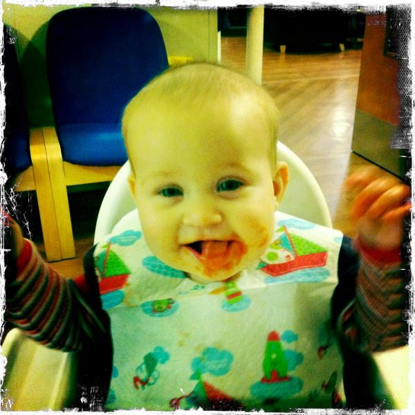 No Rice Cereal Anymore!  Baby Led Weaning Guide.