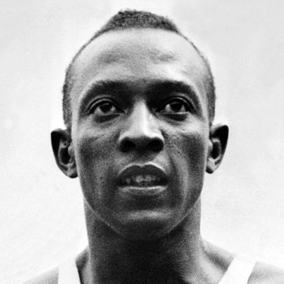"Jesse Owens AKA ""Buckeye Bullet"". World-famous Athlete & Olympic Champion who is especially known for his win in the 1936 Olympic Games. Set world records in sprinting, hurdles, and jump. Won 42 collegiate athletic events in one year, captured 4 gold medals in the Olympics, and set several world records"