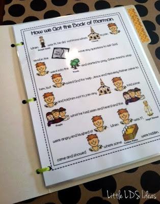 Little LDS Ideas: $$ Cute idea to teach Book of Mormon stories to children.