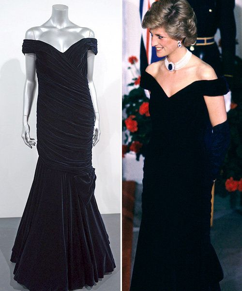 Princess Di Dress Auction Sells for Over 1 Million | Photo Gallery - Yahoo! Shine