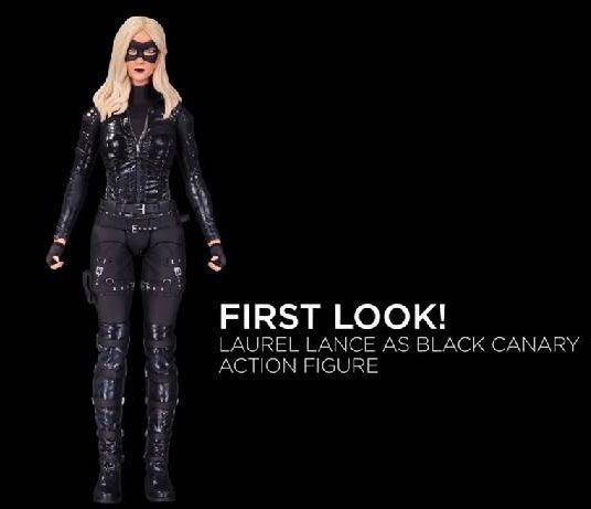 ToyzMag.com » DC Collectibles dévoile Black Canary Arrow