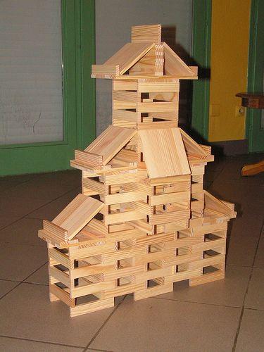Les 33 meilleures images propos de kapla sur pinterest for Modele maison nicolas