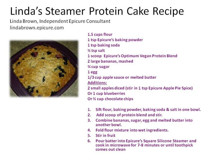 This steamer cake is a favourite in our house!