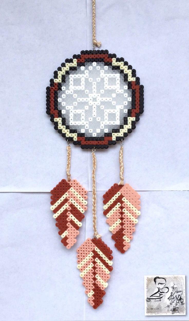 Dreamcatcher hama beads by LeCreazioniDiMaYa