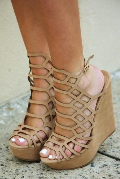 Life After You Wedges: Nude
