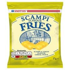 Smiths Scampi Fries 24 x 27g carded