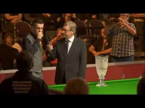 SNOOKER TV - Mark Selby winner of the Paul Hunter  Classic 2016. Intervi...