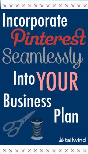 Your Pinterest Business Plan | Tailwind Blog: Pinterest Analytics and Marketing Tips, Pinterest News - Tailwindapp.com