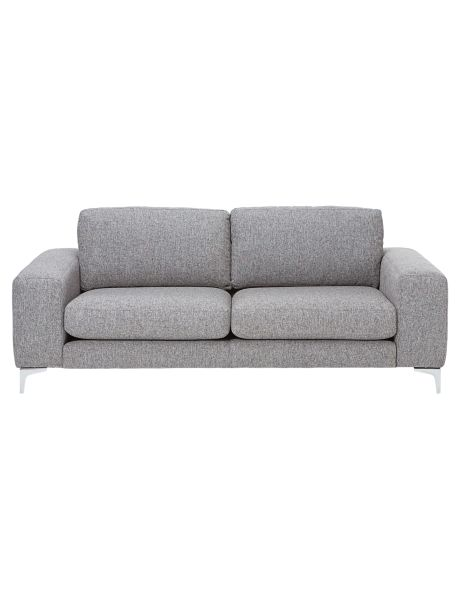 Add a classic touch to your living space with the Eva two-and-a-half seater sofa from the Bianco Home Collections range.