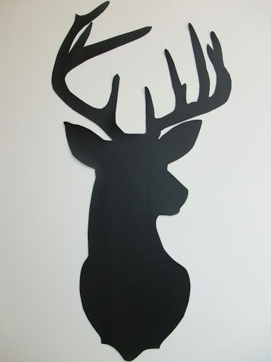 Just Another Hang Up: Deer Silhouette Wall Art Tutorial...