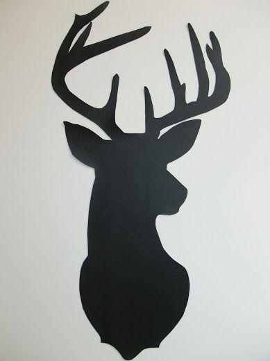 Just Another Hang Up: Deer Silhouette Wall Art Tutorial...
