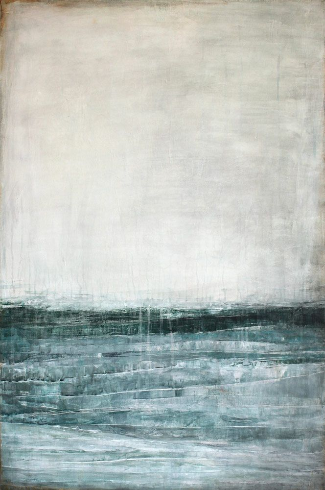 """""""Time is a Boat"""" ~Karine Léger #art #painting"""