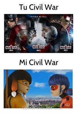 esta es mi civil war :3 y me encanta 7
