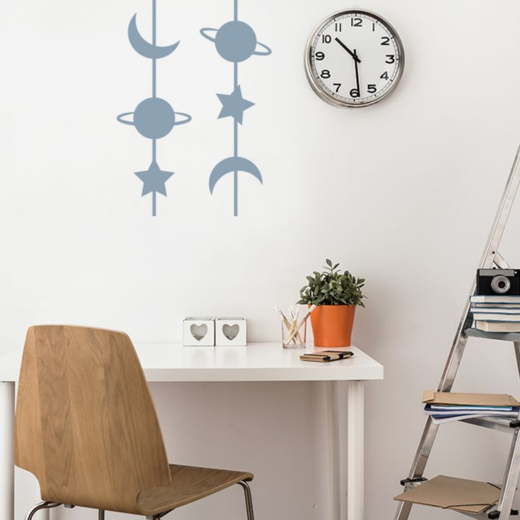 Looking for home decorations for an astronomy lover? Search no more - we have the perfect wall sticker for you!