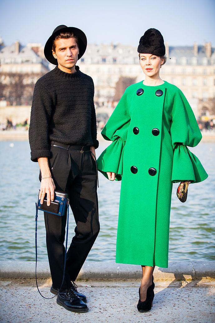 Фрол Буримский и Ульяна Сергеенко в Париже