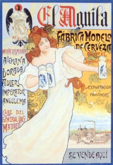 Cervezas El Aguila -R. Yzquierdo-, 1910