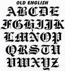 old english font - Google Search