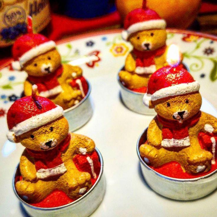 Moin und einen schönen 1.Advent  #alex #moin #advent #sonntag #wochenende #weihnachten #kerzen #bären #feuer #greenape #nord #niedersachsen #makesyourlifebetter